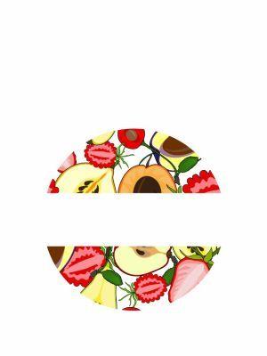 Love jam jars | L Summer Fruits lid label