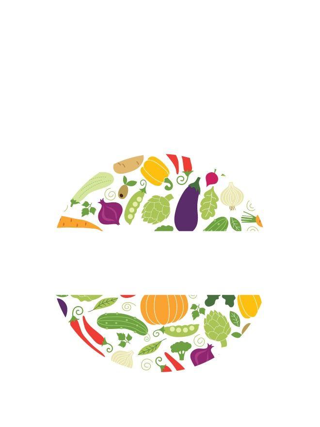 Lid Labels 40mm Summer Vegetables