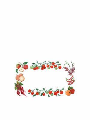Love jam jars | J Classic Vegetable Jar Label