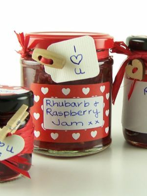 Love jam jars | C Jar Label