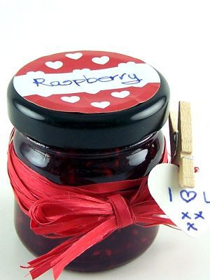 Love jam jars | - Lid Label