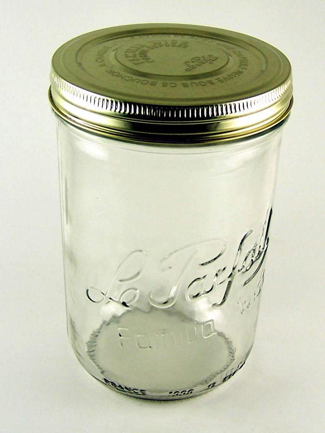 Le Parfait Terrine Screw Top Jar - 1000ml