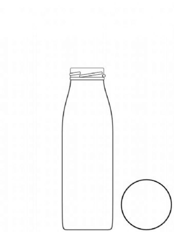 Glass Bevanto Milk Bottle 250ml x70 2
