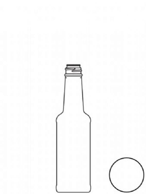 Glass Bottle Vinegar 150ml 2