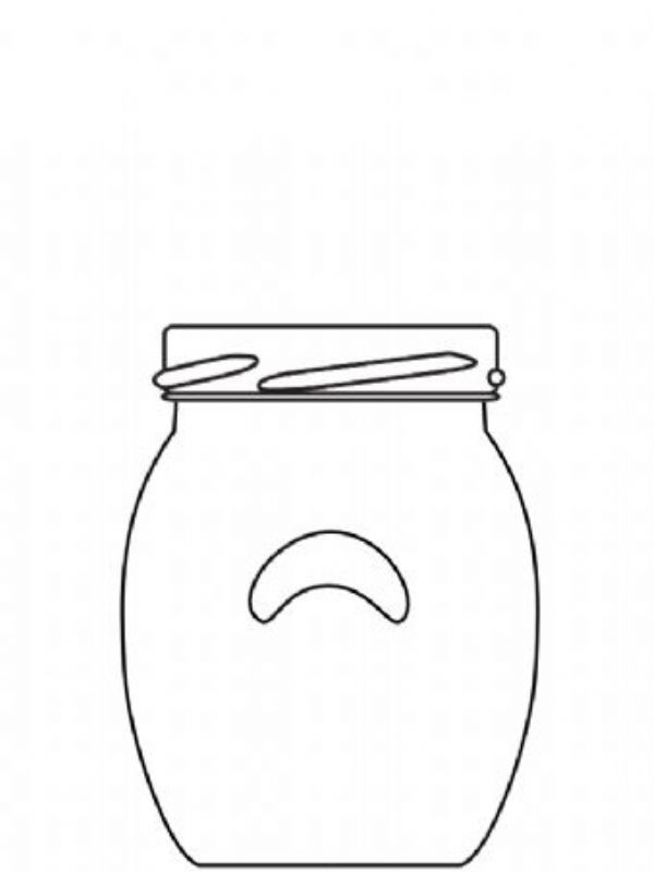 Jam Jars Orcio Glass 106ml/4oz