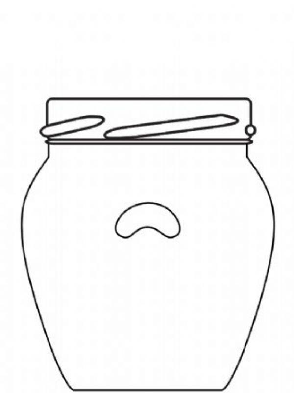Jam Jars Orcio Glass 212ml/8oz