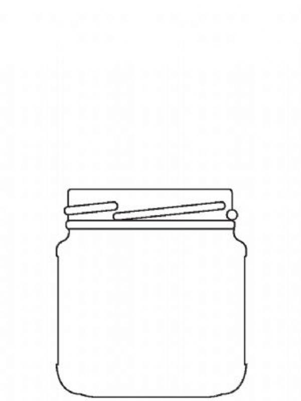 Jam Jars Round Glass 125ml 1