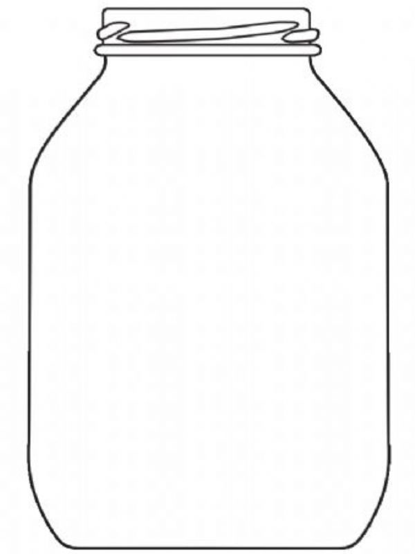 Pickle Jar Glass Half Gallon (x12)