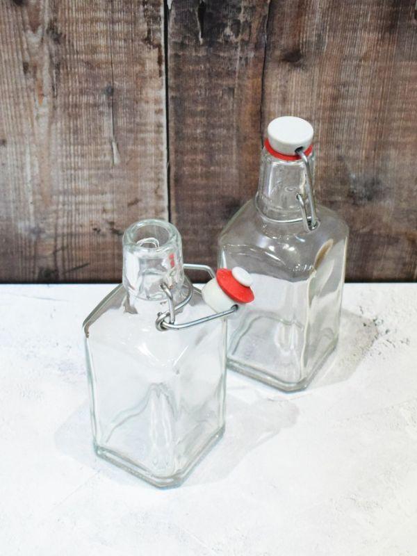 Roma Swing Top Glass Bottle 250ml 3