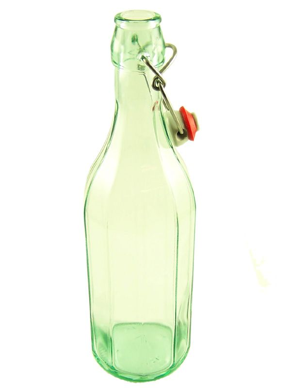 Swing Top Glass Bottle Lucca 750ml Costolata