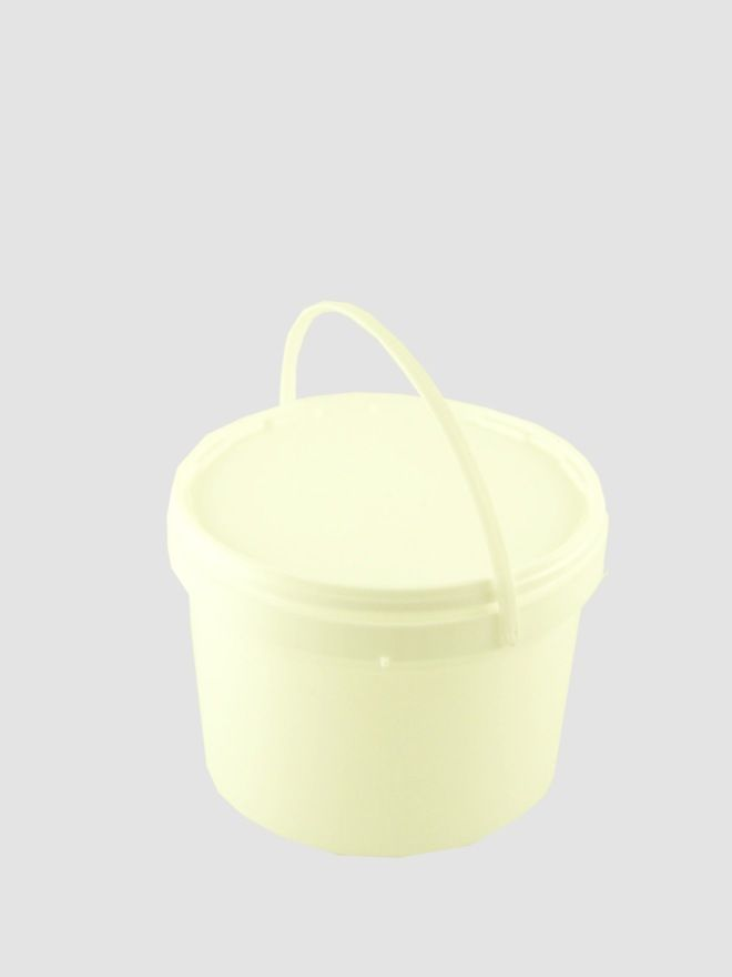 Plastic Pail 1000ml White