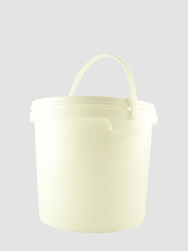Plastic Pail 2500ml White