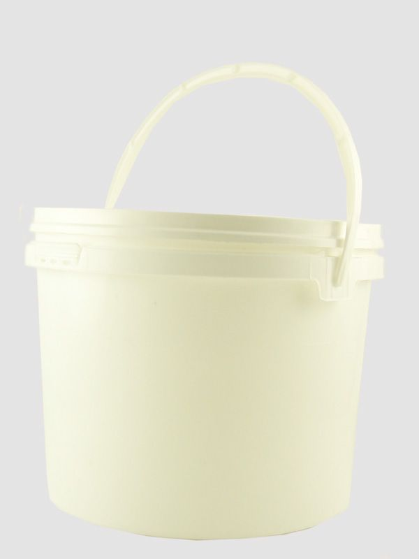 Plastic Pail 5000ml White