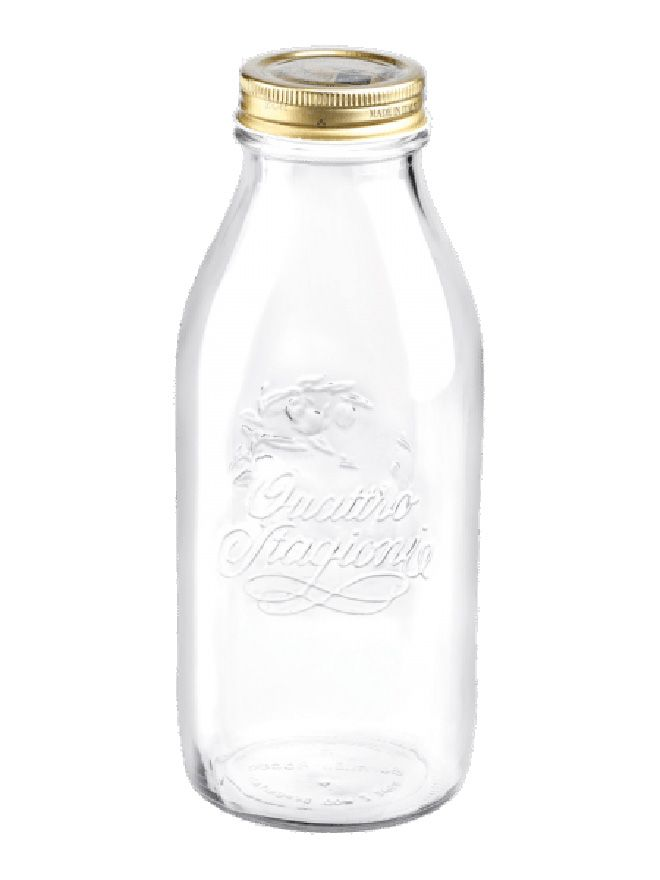 Quattro Stagioni Bottle 1000ml with Screw Top Lid x12