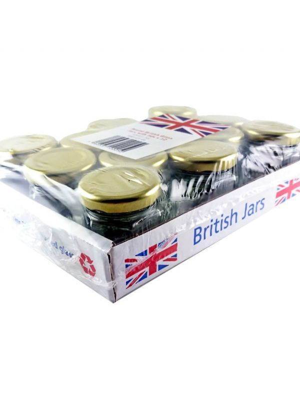 British Jam Jars Hexagonal 45ml (13) 2