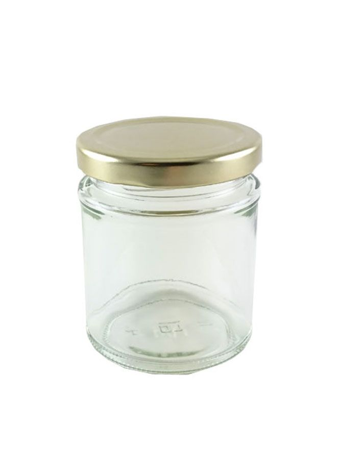 British Jam Jars Round 190ml (5)
