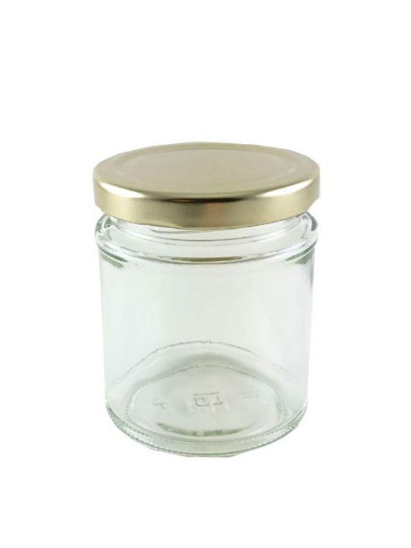 British Jam Jars Round 190ml (5) 1