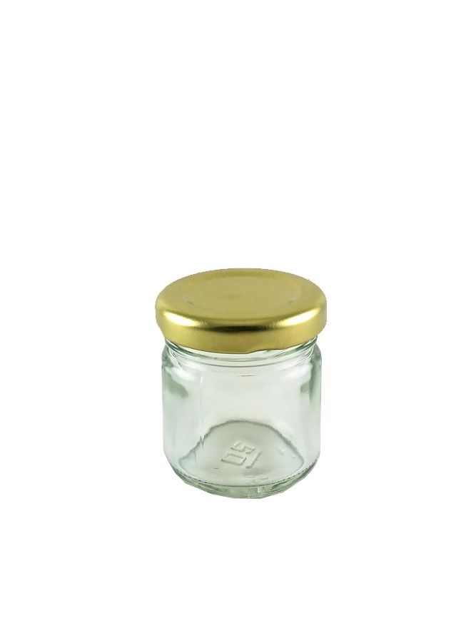 British Jam Jars Round 45ml (12)