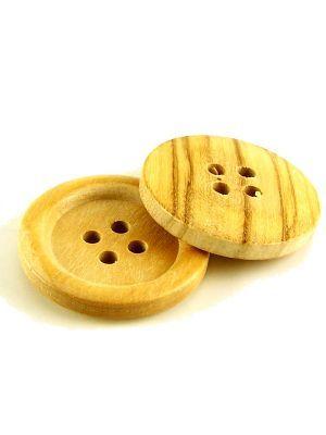 Love jam jars | G Jumbo Wooden Buttons