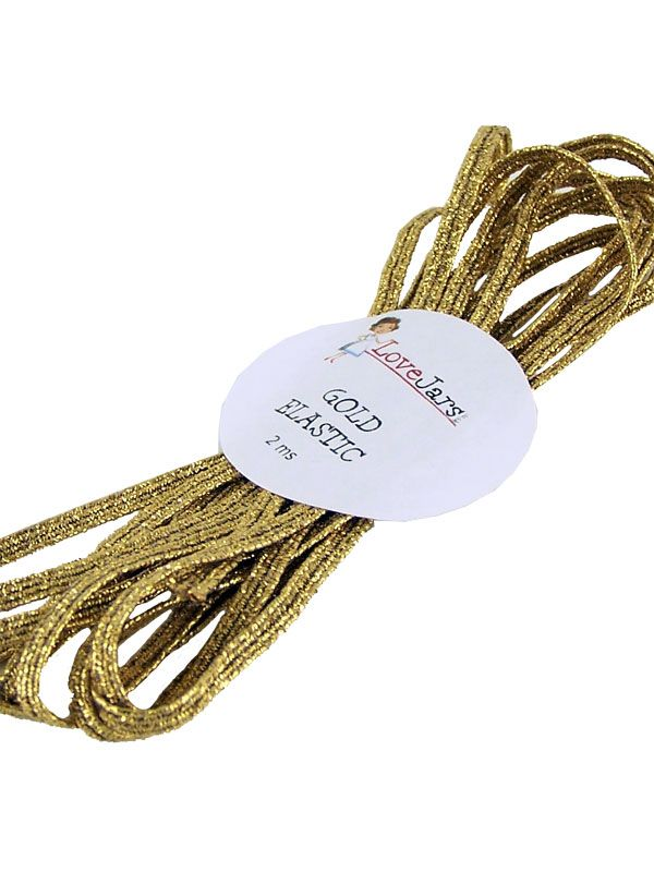 Elastic Braid Gold 2m