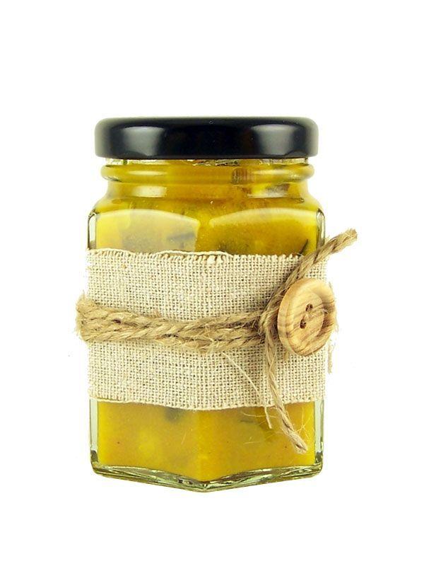 Jar Wraps - Plain Linen 50cm 1
