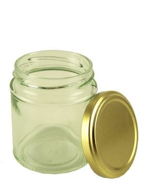 Love jam jars | Round Jars 8oz with Lid x12