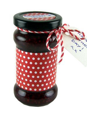 Love jam jars | H Spotty Jar Wrap