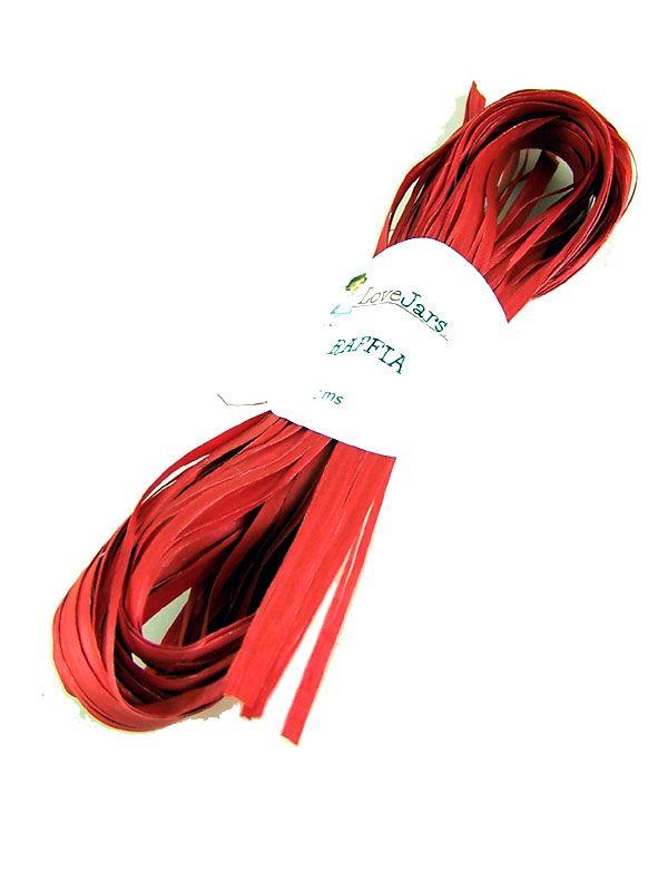Raffia Red 2m