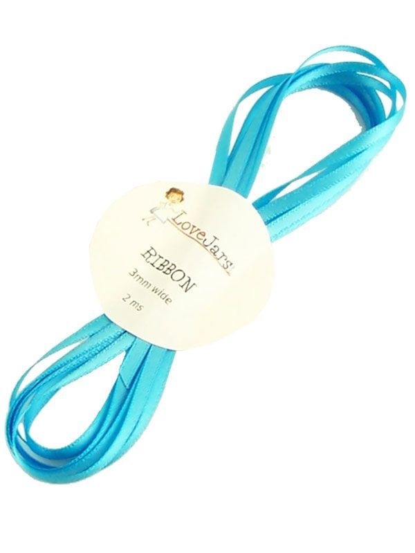 Ribbon Cyan 5mm x 2m