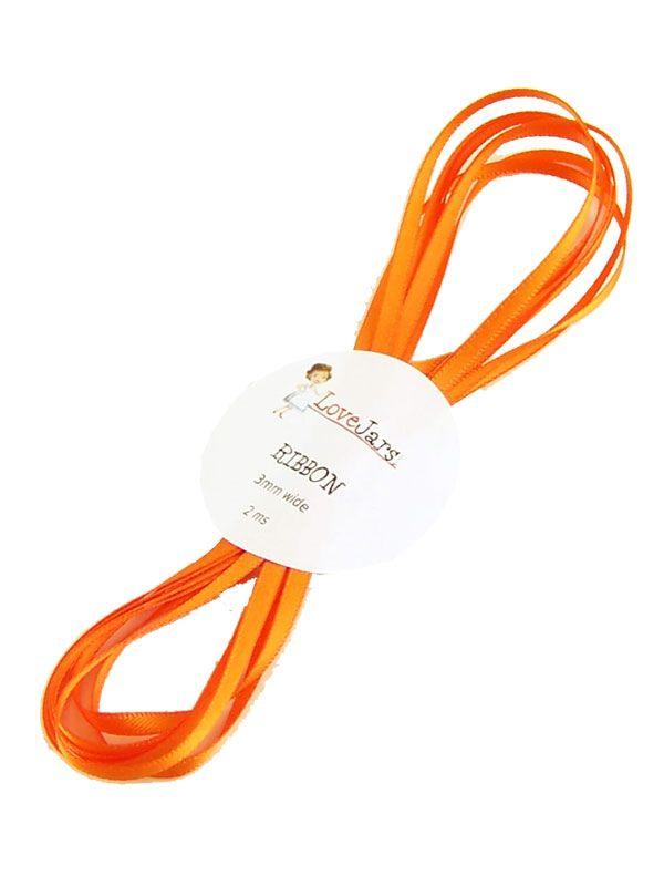 Ribbon Orange 5mm x 2m