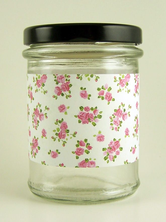 Jar Wraps - Summer Frocks Small Sprig