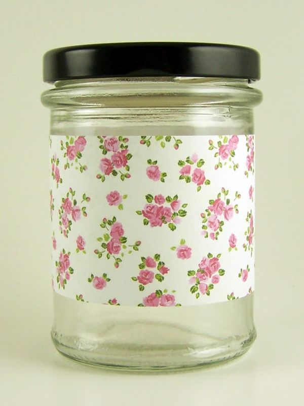 Jar Wraps - Summer Frocks Small Sprig 1