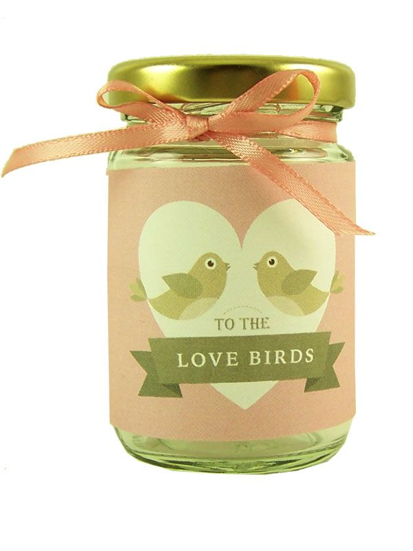 Jar Wraps - Love Birds
