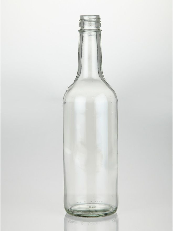 Glass Mineral Pressure Bottle 500ml