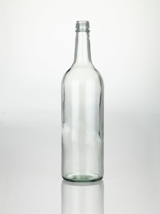 Glass Mineral Pressure Bottle 1000ml