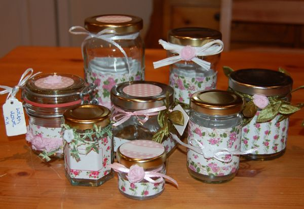 Jar Wraps - Summer Frocks Small Sprig 2