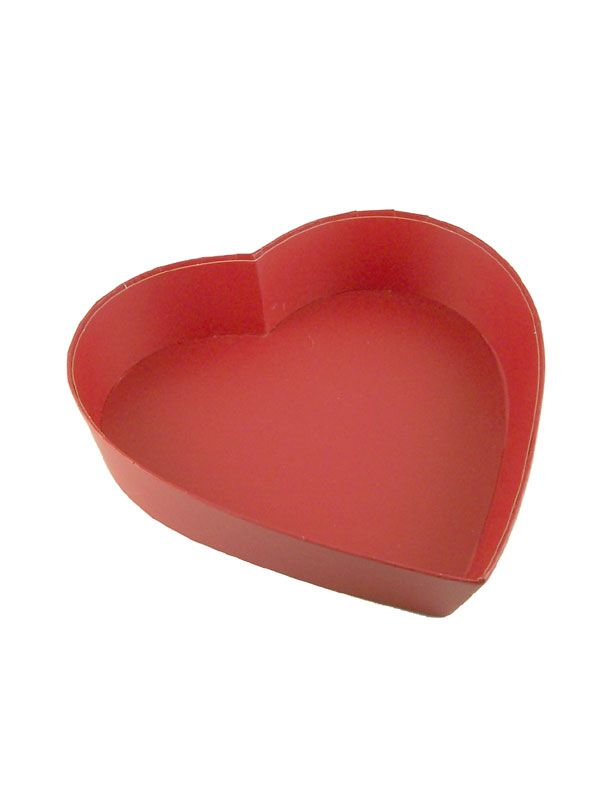 Red Heart Gift Tray 8'