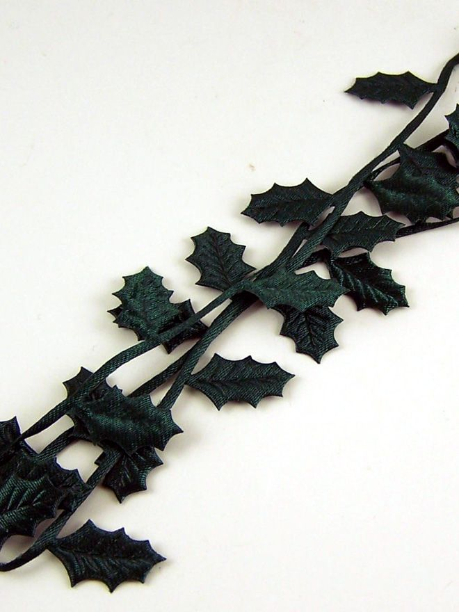 Christmas Holly Trim 50cm