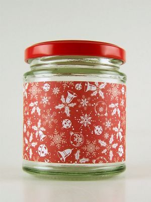 Love jam jars | C Jars Wrap Christmas Bells