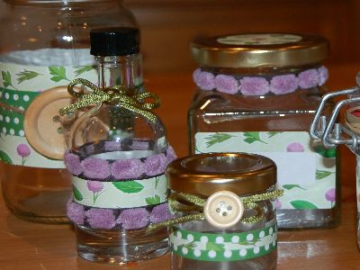 Love jam jars | Garden Herbs