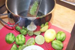 How to make Lemon or Lime Cordial