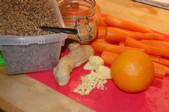 How to make Gingered Up Carrot Relish