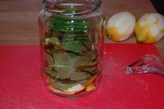 How to make Lemon Vinegar