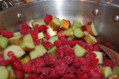 How to make Rhubarb & Raspberry Jam